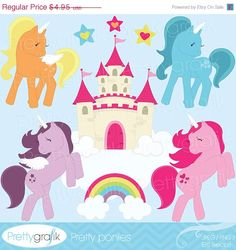 80 OFF SALE pony clipart commercial use by Prettygrafikdesign  https://www.etsy.com/listing/128402188/80-off-sale-pony-clipart-commercial-use?ref=shop_home_active_12