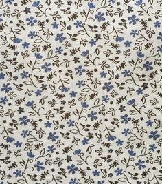 Apparel Lining - Ditsy Flower Gray LiningApparel Lining - Ditsy Flower Gray Lining,