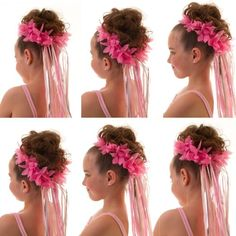 6-pack Pink Fairy Halos - Stretchable fairy halos for fairy hair. Great for fairy party favors or for a dress up box. #itsaprincessthing