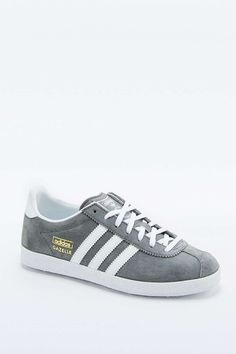 best service 26ecd 50991 Adidas Women Shoes - adidas Originals Gazelle Grey Trainers - We reveal the  news in sneakers for spring summer 2017