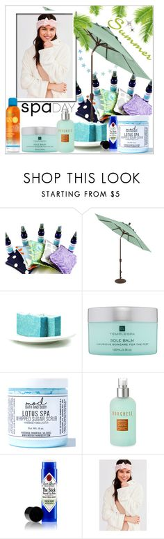 """Spa Day"" by stylematters61 ❤ liked on Polyvore featuring beauty, Temple Spa, Mod Bath and Body, Borghese, Jack Black and Missha"
