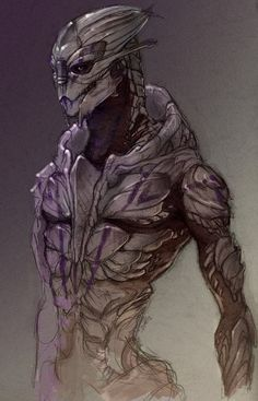 Turian physiology is honestly one of the most beautiful things