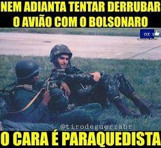 Nem adianta!  #Bolsonaro2018  #brasil #usa #force #força #honra #fé #like4like#likeforlike #tagsforlikes #determination #blessed#militar #guerra #war #good #follow4follow#policiamilitar #militaresdomundo #respect #polizei#bope #goodnight #boanoite #caveira #gta#goodmorning #sniper #bomdia #military #good