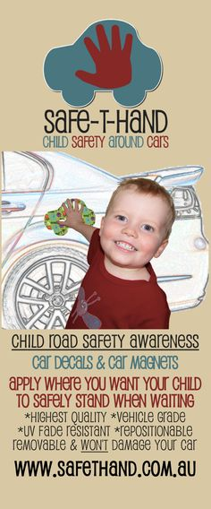 Banner image for www.safethand.com.au #child #road #safety