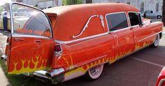1956 Cadillac Hearse Flower Car, Abandoned Cars, Station Wagon, Ambulance, Cute Photos, Car Insurance, Old Cars, Custom Cars, Cadillac