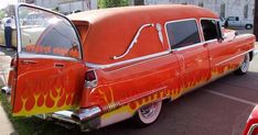 1956 Cadillac Hearsed..Re-pin...Brought to you by #CarInsurance at #HouseofInsurance in Eugene, Oregon