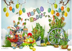 """""""Happy Easter"""" by kwaldrip on Polyvore Happy Easter, Art Work, Polyvore, Happy Easter Day, Artwork, Work Of Art, Piece Of Art, Art Pieces"""