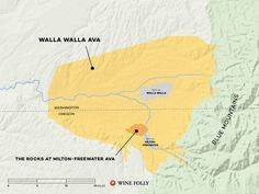 Get to Know Walla Walla Wine #Wine #Wineeducation