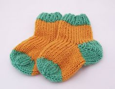 Handknitted Baby Socks 03 months Wool Socks for by evefashion, £4.50