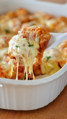 BBQ Chicken Bubble-Up Bake! Only 5 ingredients and so delicious!  - Life In The Lofthouse