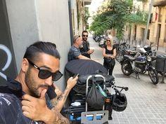 The awaits. Harley Davidson, Barcelona, Barcelona Spain