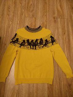 Intarsia Knitting, Intarsia Patterns, Knitting Charts, Knitting Patterns Free, Free Knitting, Baby Knitting, Fair Isle Knitting, Tapestry Crochet, Sweaters For Women