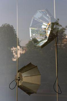 Luminaires design - Daffodil mirrored lamp - Pietro Russo