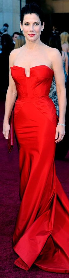 Red Carpet Glamour: Sandra Bullock  |  The House of Beccaria