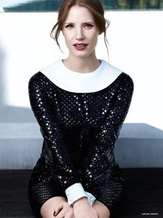 jessica chastain ysl photos 2014 2 Jessica Chastain Charms in Photo Shoot for YSL Manifesto LEclat Eau De Toilette