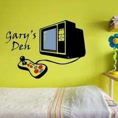 Retro Gaming Wall Stickers