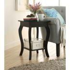 Designs2Go Ella Black End Table