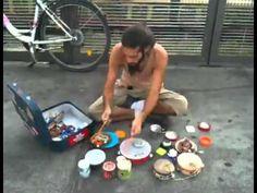 Street Musician In Berlin! - YouTube