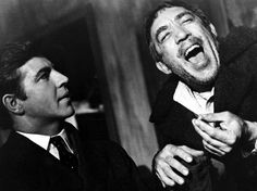 Alan Bates, Anthony Quinn in Zorba the Greek Great Films, Good Movies, Alan Bates, Mutiny On The Bounty, Zorba The Greek, Lawrence Of Arabia, Literary Characters, Anthony Quinn, Roman Holiday