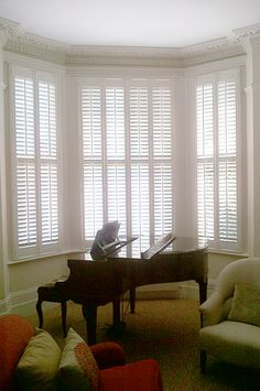 Full height style example | Plantation Shutters Ltd