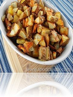 Microwave-Roasted Potatoes
