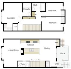 three bedroom east South Surrey apartment