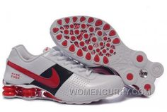d819afd0729 Men s Nike Shox OZ Shoes White Black Red Silver New Release