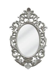 A Loja do Gato Preto   Espelho Florão Oval Verde #alojadogatopreto