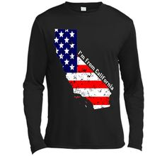 Proud of California USA flag Independence day Tshirt