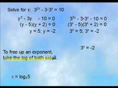 Precalculus - 5 Questions (Exponents and Logarithms) - Part 1