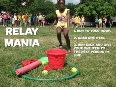 GAME IDEA: Relay Mania - CentriKid - CentriKid