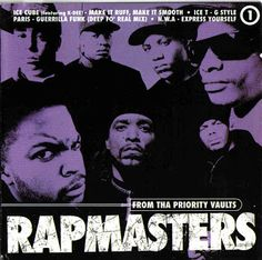 Hip-Hop HQ: V.A. - RapMasters: From Tha Priority Vaults, Volum...