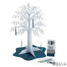 Nautical Wishing Tree Centerpiece - Oriental Trading - Discontinued