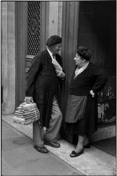 Paris 1957s., France. Henri Cartier-Bresson
