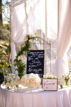 Welcome. Extravagant white wedding at Hummingbird Nest Ranch. Hints of light pink and purple. Planned by Best Bride.  www.bestbride.la instagram.com/bestbride_ #wedding #white #ranch #outdoor #losangeles #california #welcome #ceremony