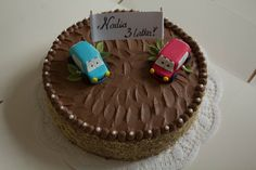 Cake with cars :)