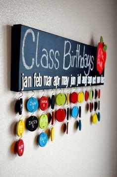Cumpleaños de clase