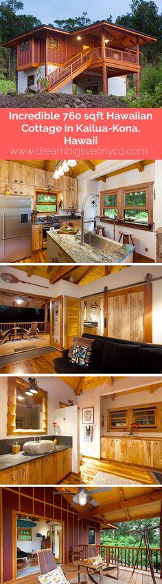 Incredible 760 sqft Hawaiian Cottage in Kailua-Kona, Hawaii
