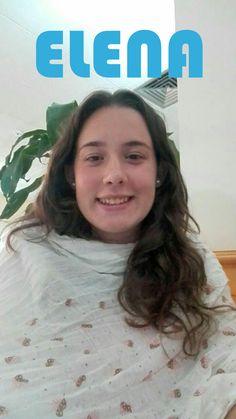 Ésta soy yo, Elena Cuerva Gómez