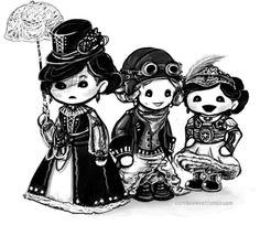 Downton Abbey - Steampunk Siblings