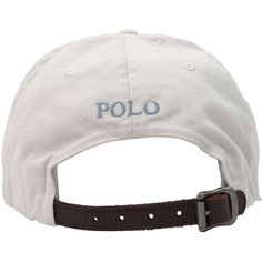 POLO RALPH LAUREN Embroidered Logo Cap ($38) ❤ liked on Polyvore featuring mens, men's accessories, men's hats, hats, accessories, hats // etc and head accessories