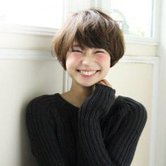 Pin on Hair -- short Pin on Hair -- short Japanese Short Hair, Japanese Haircut, Asian Short Hair, Girl Short Hair, Short Bob Hairstyles, Hairstyles With Bangs, Girl Hairstyles, Mushroom Haircut, Posh Hair