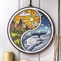 """""""Strike a Balance"""" is now available in issue 244 of Cross Stitch Crazy. :D"""