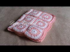 Háčkovaná deka pre bábätko - YouTube