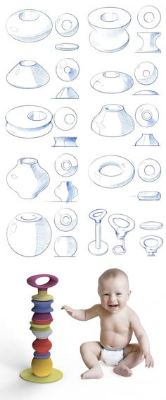 Process insight: sketch development for Kipiis Shape Shifter. Shapes for days.  James Owen Design + Kipiis  #design #industrialdesign #productdesign #visual #kids #organization #storage #toddlers #sketches #sketching #designlife #CAD #organization #storage #toddlers #kids #toys #toddlers #productdesign #visual #sketch #design #industrialdesign #visual #designlife #sketching #sketches #designer #technique #designsketch #sketchoftheday #productdesign #productdevelopment #vision #concept…