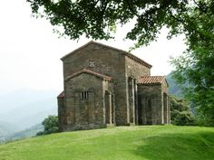 Santa Cristina de Lena is a Roman Catholic Asturian pre-Romanesque church located in the Lena municipality, about 25 km south of Oviedo, Spain, on an old Roman road that joined the lands of the plateau with Asturias.