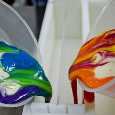 Tutorial: Rainbow Elemental Swirl/Double In-The-Pot-Swirl Soap