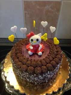 Pařížský dort s Hello Kitty