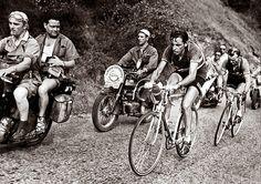Coppi, Tour de France 1952 Alpe d'Huez.