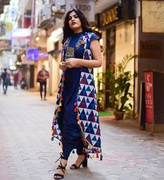 Browse our selection of shrugs. Browse an . Choose by using a stylish move dressShow more . shrugs for dresses diy Kurta Designs, Blouse Designs, Indian Dresses, Indian Outfits, Suit Fashion, Boho Fashion, Stylish Dresses, Casual Dresses, Boho Outfits